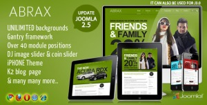 Abrax Template for Joomla