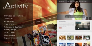 Activity - Premium Joomla Template
