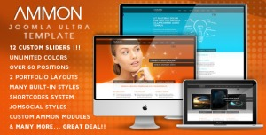 Ammon - Template for Joomla