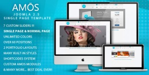 AMOS - Template for Joomla