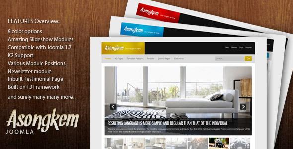 Asongkem - Premium Joomla TemplateAsongkem - Premium Joomla Template