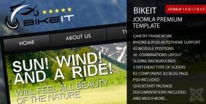 BikeIT - Premium Joomla Template