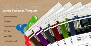 Business Joomla 1.5 template
