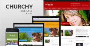 Churchy - Joomla Responsive Template