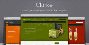 Clarke - Multi-Purpose Responsive Joomla Template