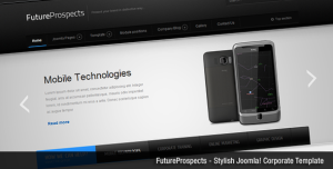 FutureProspects Stylish Corporate Joomla Template