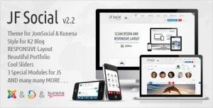JF Social - Joomla JomSocial Kunena Template