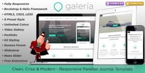 JM Galeria, Responsive, Creative Joomla Template