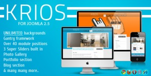 Krios Template for Joomla