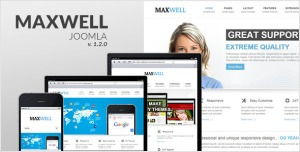 Maxwell - Multipurpose Joomla Template