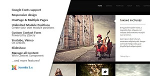MY FOLIO : Responsive Photography Joomla