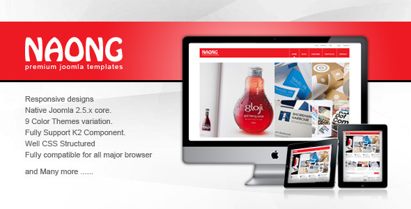 Naong - Responsive Joomla Templates
