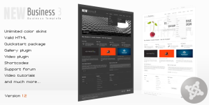 New Business 3 - Business Joomla Template