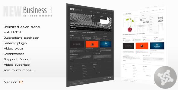 New Business 3 - Business Joomla Template