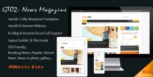 News Magazine - Joomla Responsive Templates