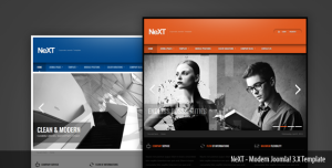 NeXT Clean Corporate Joomla! Template