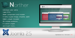 NORTHER - Professional Business Joomla 1.6 Theme