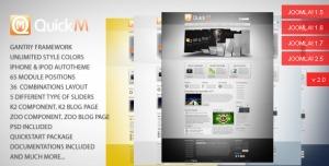 QuickM - Template for Joomla 1.5