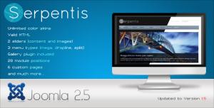 Serpentis - Premium Joomla 1.6 Template