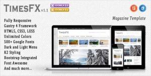 TimesFX - Responsive Joomla Template