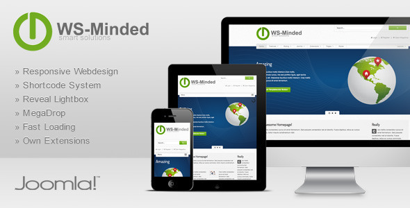WS-Minded – Responsive Joomla Template – Themes & Templates