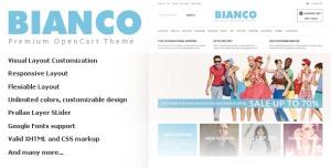 Bianco - Opencart Responsive Theme