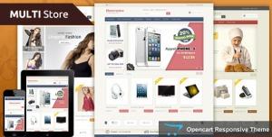 Multi Store - Opencart Responsive Theme