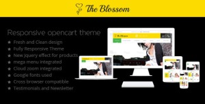 The Blossom - Responsive Opencart Theme