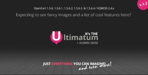 Ultimatum - Responsive OpenCart theme with blog